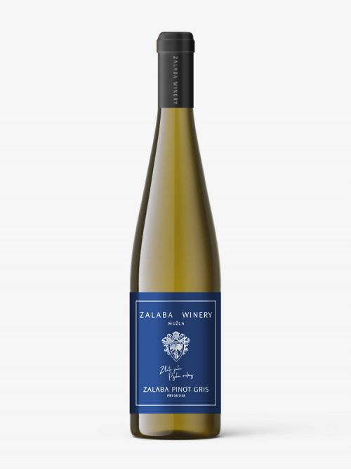 Zalaba Pinot Gris biele premium víno
