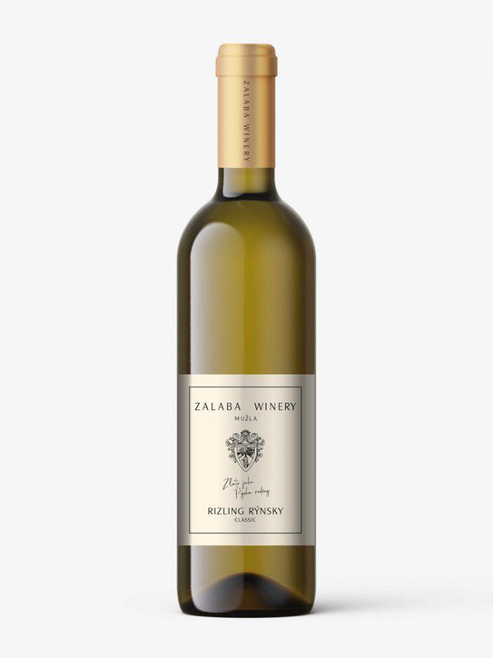 Zalaba rizling rýnsky - biele víno