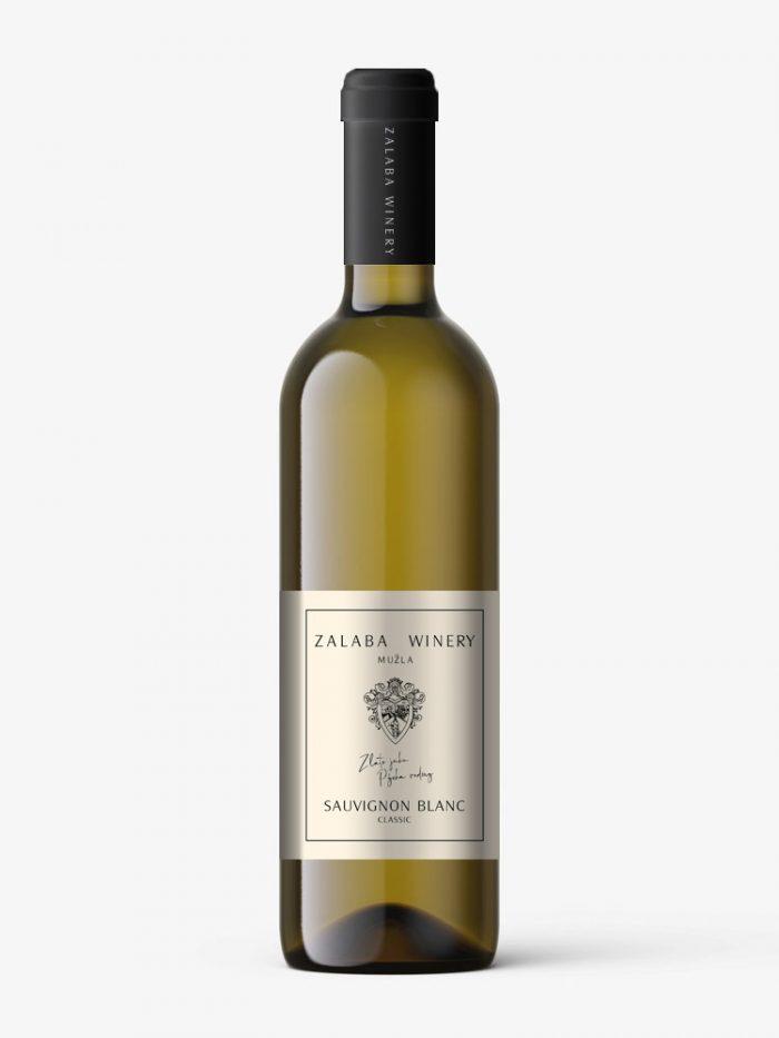 Zalaba Sauvignon Blanc biele vino