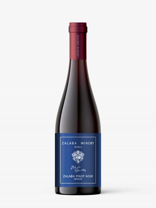 Zalaba winery - pinot noir - červené víno